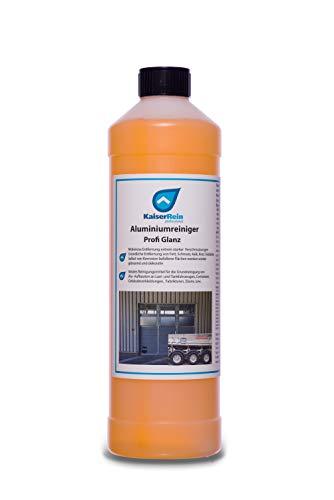 KaiserRein Aluminium-Reiniger Profi Glanz 1L Industrie ist ein starker Grundreiniger für Alu Flächen Industriereiniger Werkstattreiniger Fahrzeugreiniger