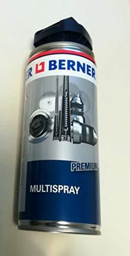 Berner Multispray Rostlöser Kontaktspray Korrosionsschutz und Metallpflegemittel