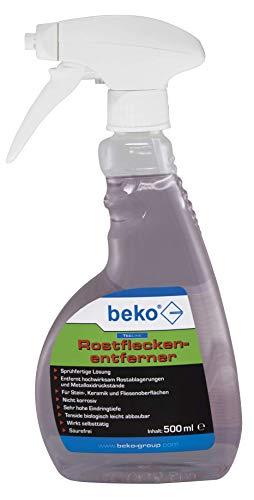 BEKO 299150500 TecLine Rostfleckenentferner Sprühflasche 500 ml