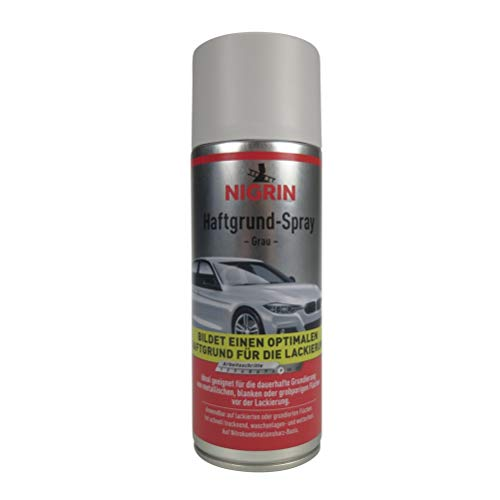 NIGRIN 74115 Haftgrund-Spray , Grau, 400 ml