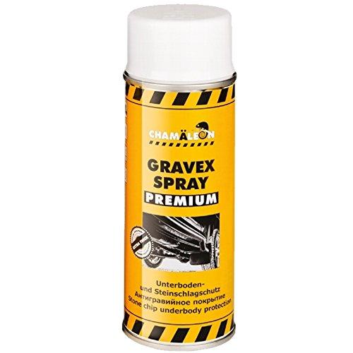 Chamäleon Premium UBS 400ml Spray Weiß Anti GRAVEX Schutz UNTERBODENSCHUTZ