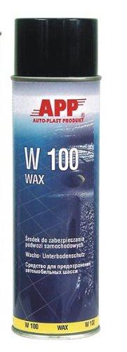 Unterbodenschutz W100 auf Wachsbasis anthrazit 500ml Spray APP