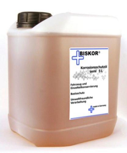 Biskor® Korrosionsschutzöl semi 5 Liter Sprühöl Kriechöl