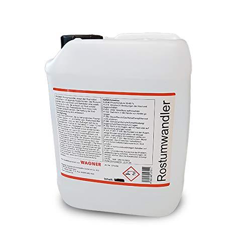 WAGNER Spezialschmierstoffe GmbH & Co. KG Rostumwandler Rostentferner Rostlöser 5 L Liter