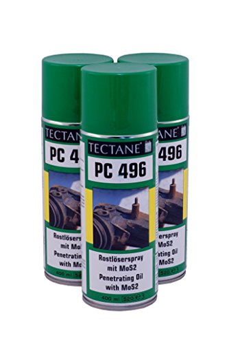 Rostlöser 7,50€/L Tectane PC496 Spray mit MOS2 3x 400ml