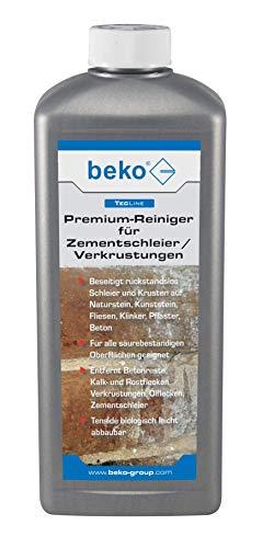 BEKO 299511000 BEK-299511000 TecLine Premium-Reiniger für Zementschleier/Verkrustungen 1 l