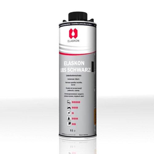 Elaskon Unterbodenschutz 2 schwarz in 1-Liter-Flasche