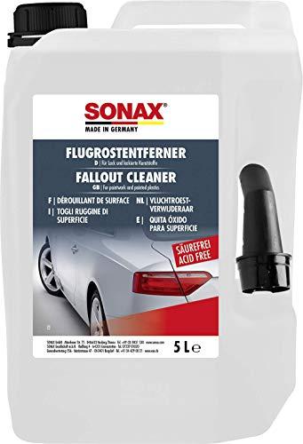 SONAX FlugrostEntferner säurefrei (5 Liter) Entfernt oberflächliche lokale Korrosionserscheinungen von allen lackierten Oberflächen | Art-Nr. 05135050