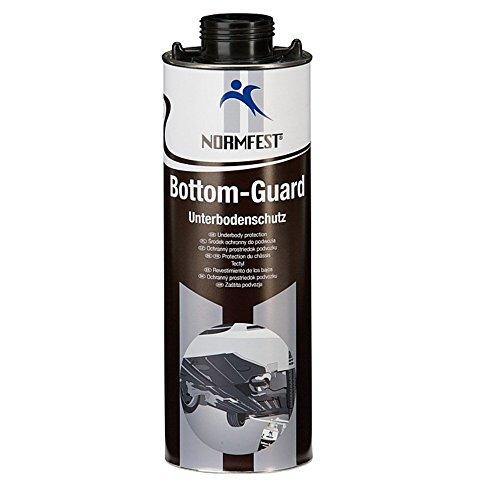 Auprotec® Normfest Unterbodenschutz Steinschlagschutz Bottom Guard 1 L schwarz (1 Dose)