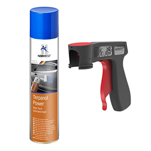 AUPROTEC High Tech Spezialreiniger Terpanol Power Spray 1x 400ml + 1x Original Pistolengriff