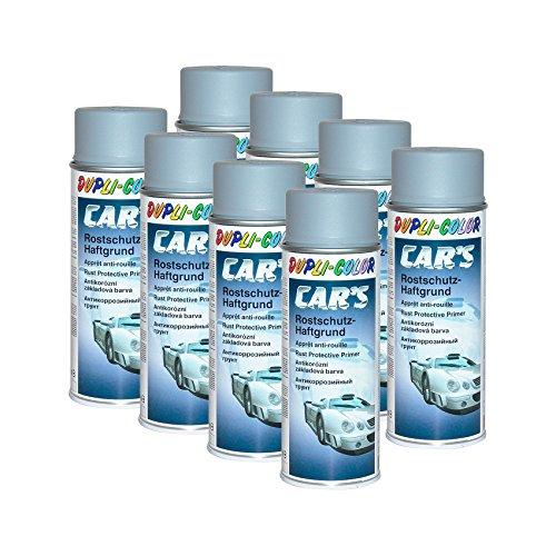 DUPLI_bundle 8X Dupli-Color Cars Rostschutz Haftgrund Spray grau 400ml 385889