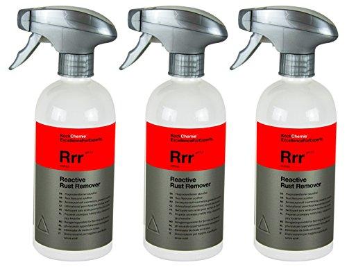 Koch Chemie 3X RRR Reactive Rust Remover Flugrostentferner säurefrei 500 ml