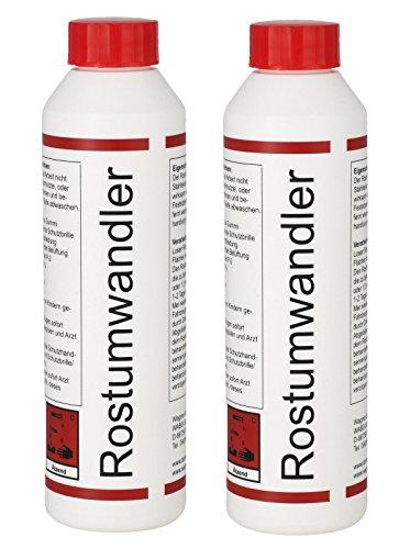 WAGNER Spezialschmierstoffe GmbH & Co. KG 2X Rostumwandler Rostentferner Rostlöser 250 ml