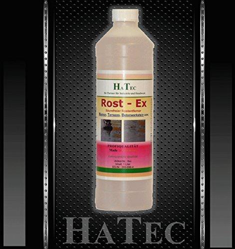 HaTec Rostentferner, Rostflecken-Entferner Marmor, Rost-Ex 1-kg Säurefreier Rostfleckentferner, entfernt mühelos Rost von, Marmor, Stein, Beton, Terrazzo, Granit, Fliesen UVM.