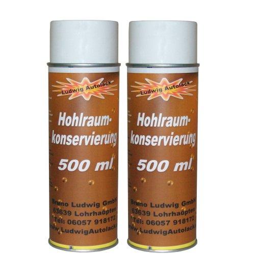 2x 500ml Spray Profi Hohlraumkonservierung