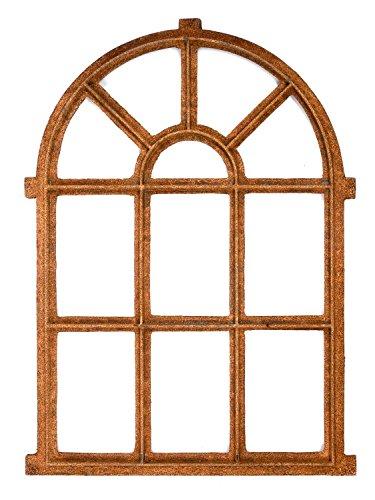 aubaho Nostalgie Stallfenster Fenster 94cm Eisen Eisenfenster Scheune Rost antik Stil