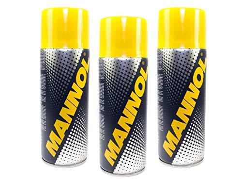 MANNOL Rust Dissolver Rostlöser Spray 3 Stück á 450 ml