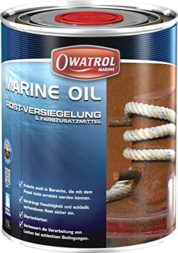 Owatrol - MARINE - OIL -Blattrostentferner, Rostkonservierung und Rostversiegelung , 5 Liter