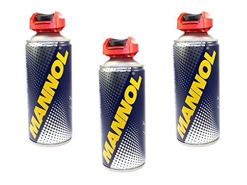 MANNOL Multifunktionskreichöl Universalöl Rostlöser M-40 3 Stück á 400 ml