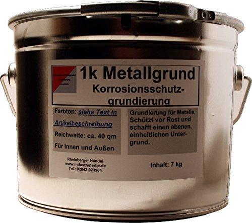 Kunstharz Metallgrund Rostschutz mit Zinkphosphat, Korrosionsschutz, rotbraun, 4,5 Liter Gebinde